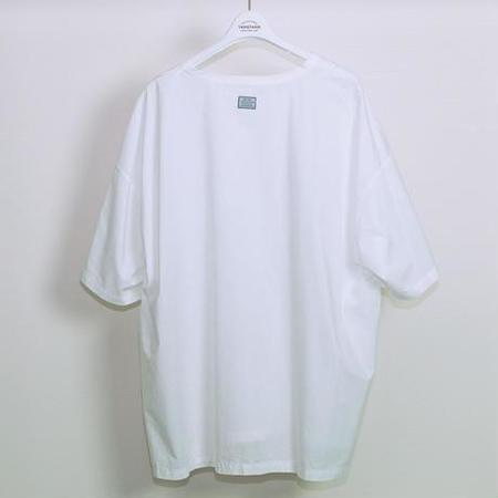 TANGTANG Pocket Broad Oversized T-Shirt - White