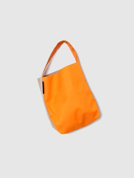 Kaan The Ottertex Waterproof Canvas Mini Bucket - Orange/Khaki