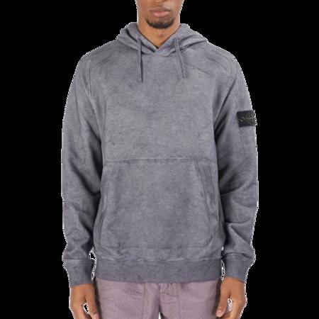 Stone Island Sweat-Shirt Hoodie - Purple Melange