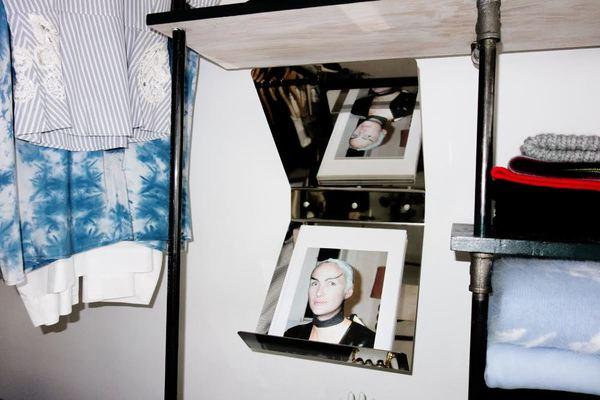 "Book Mirror Shelf by ""good thing"""