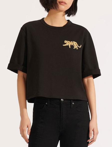 Veronica Beard Abby Tee with Sequin Patch