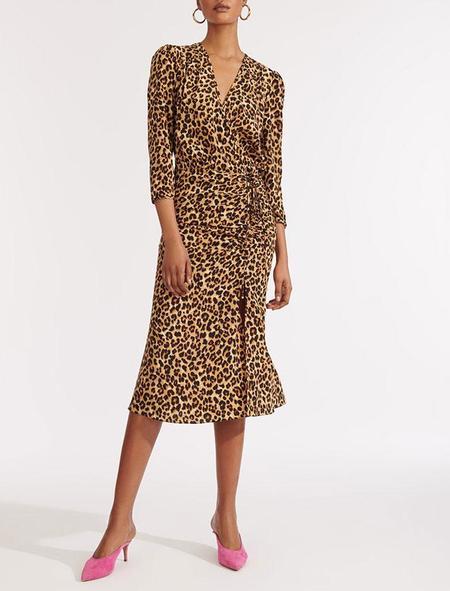 Veronica Beard Arielle Dress - Leopard