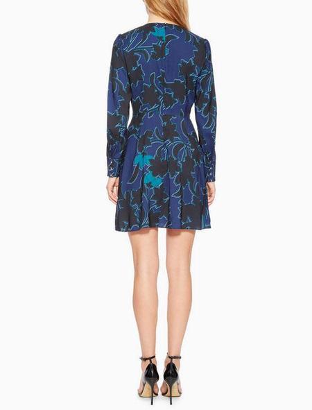 Parker NY Bernette Floral Dress - Mini Bowery Floral