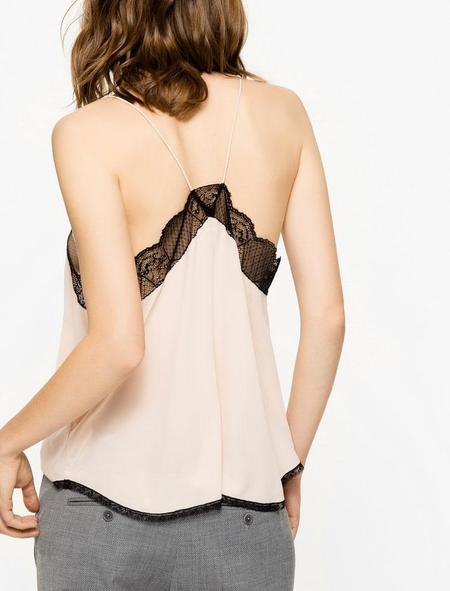 Zadig & Voltaire Christy Deluxe Camisole - Coquille