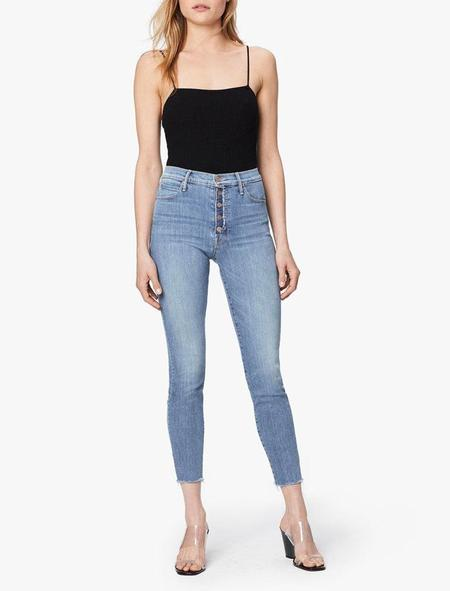 Mother Denim Fly Cut Stunner Ankle Fray - Final Frontier