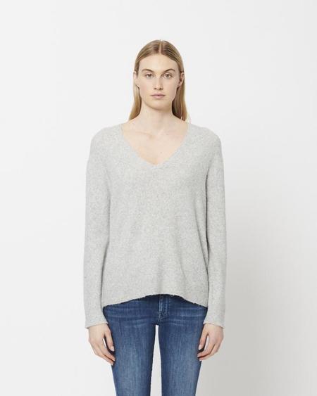 Line Knitwear Georgia Sweater - Heather Grey