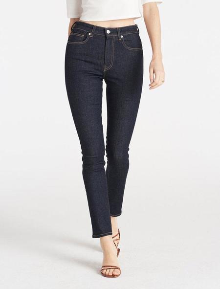 CQY Denim High Rise Skinny Palme Jean - clarity