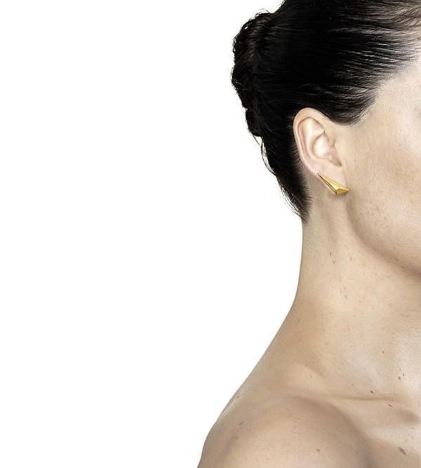 Maria Black Spike Earring