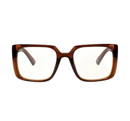 MERAKI BOUTIQUE The Book Club: FAIRY DROPPINGS eyewear - LATTE BROWN