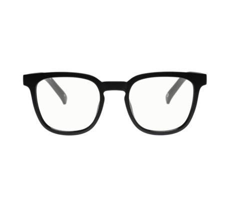 MERAKI BOUTIQUE The Book Club: SHELVE ANGRY SVEN eyewear - MATTE BLACK