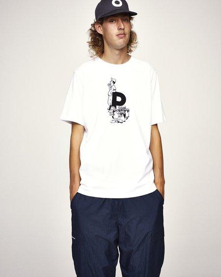 Pop Trading Company Thomas Van Rijs T-Shirt - White