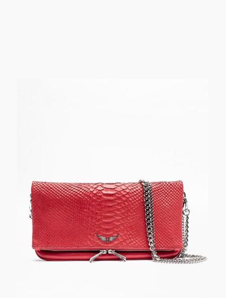 Zadig & Voltaire Rock Savage Handbag - Rouge