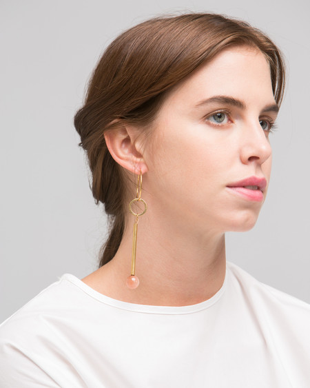 Rue Elensio earring in pink