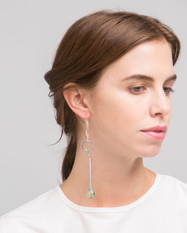 Rue Elensio earring in sage