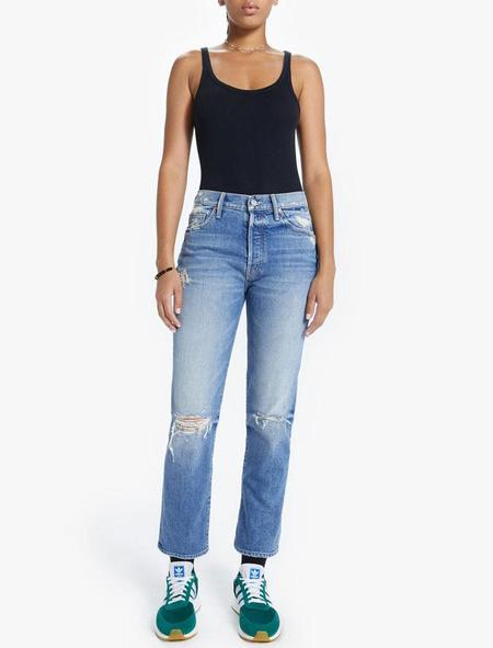 Mother Denim The Trickster Ankle Jeans - On Holy Ground