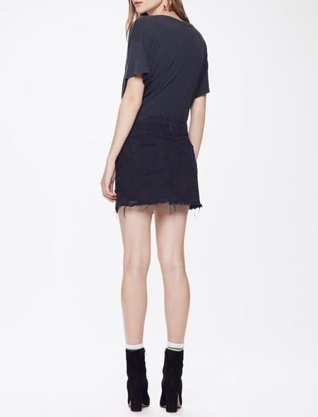 Mother Denim Vagabond Mini Skirt - Not Guilty