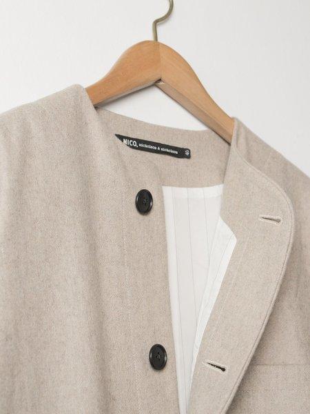 Nico, Nicholson & Nicholson arch jacket - beige
