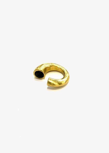Rosa Maria Copper Ring With Smokey Quartz and Garnet