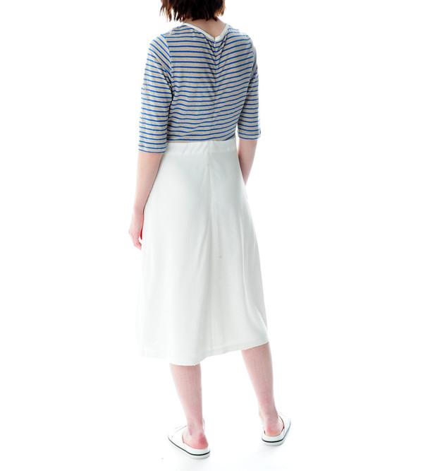 Sea NY Stripe and Crepe Dress