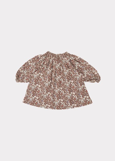 Kids Caramel Arowana Baby Dress - June Meadow Brown