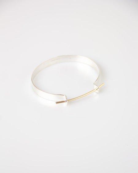 Haley Lebeuf Jewelry Taurus Cuff - sterling silver