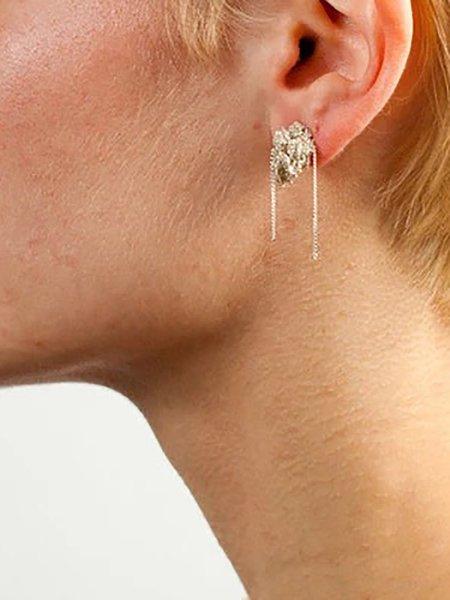Arielle De Pinto bead earrings - haze