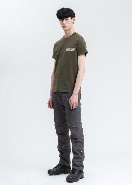 Helmut Lang Strap T-Shirt - Khaki