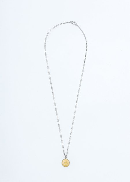 We11done Smile Necklace - Silver