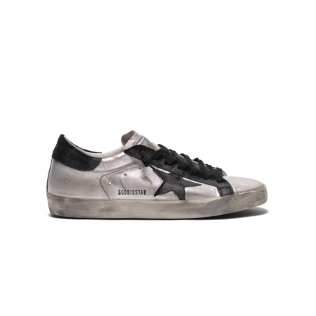 Golden Goose Superstar Metallic Laminated Upper GMF00101-F000312-60246 sneakers - Black