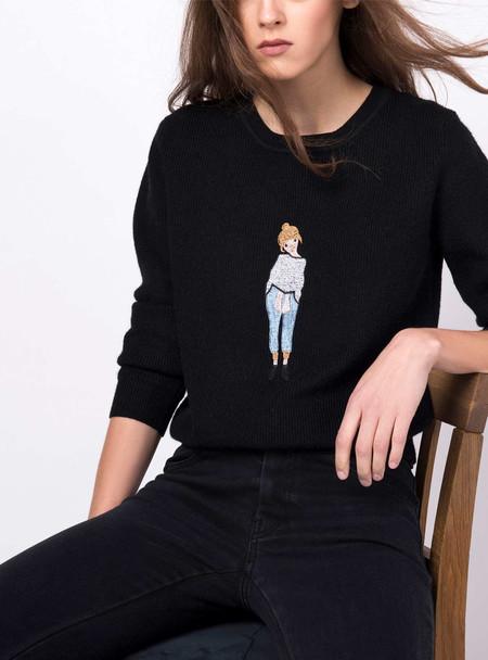 Series Noir Emma Sweater - Black