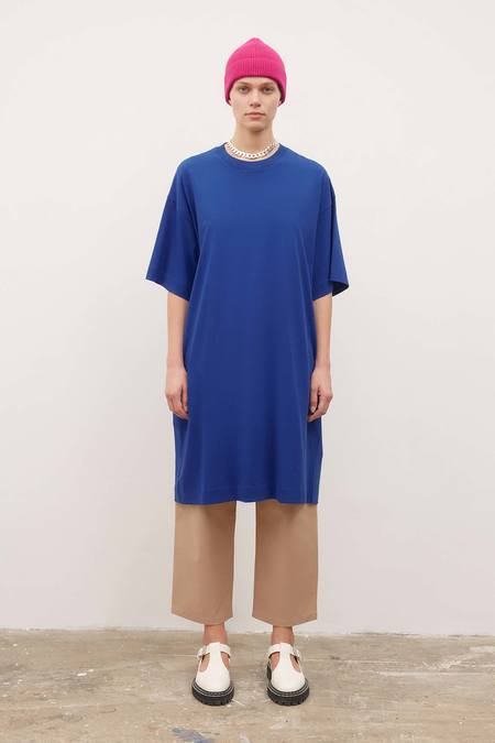 Kowtow T-Shirt Dress - bright-blue