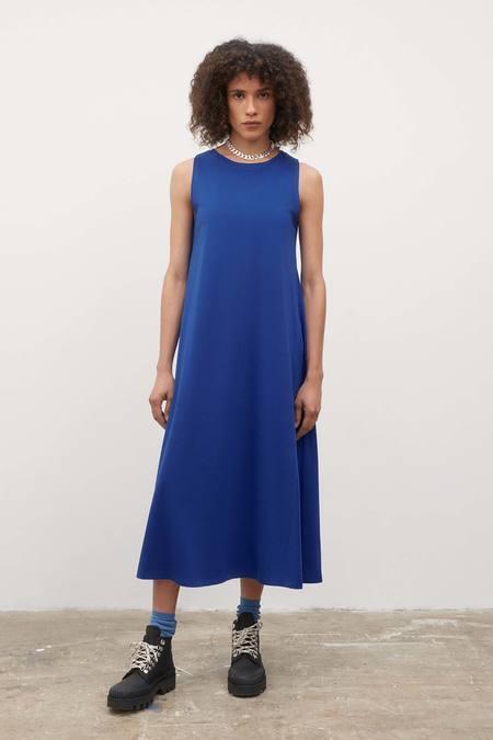 Kowtow Tank Swing Dress - bright-blue