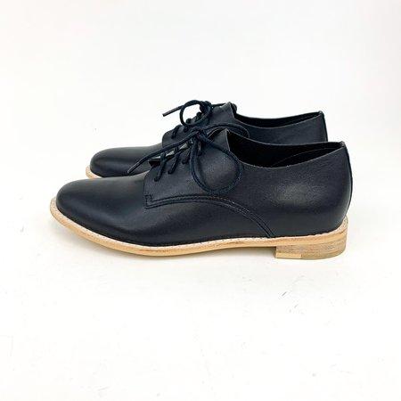 All Black Sleek Ox loafer - Blac