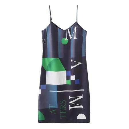 Matter Matters Moss Tank Dress - Black