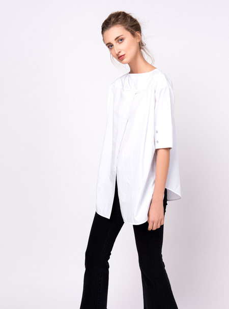 Series Noir Maja Top - White