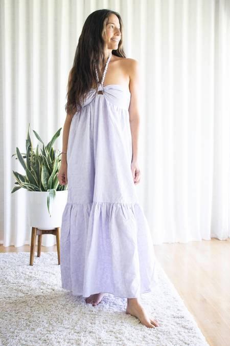 Mara Hoffman Basilia Coverup - Lavender