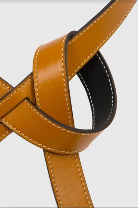 Phi 1.618 Slim Reversible Belt - Fawn/Black