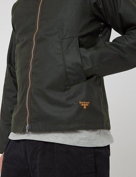 Barbour Beacon Munro Wax Jacket - Sage