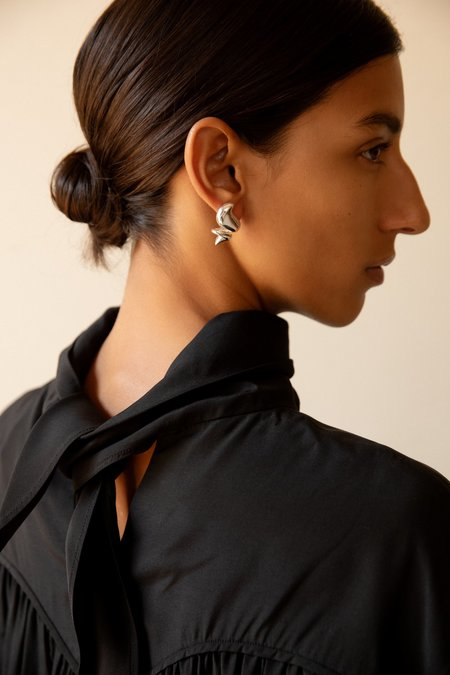 Leigh MillernDollop Studs - Sterling Silver