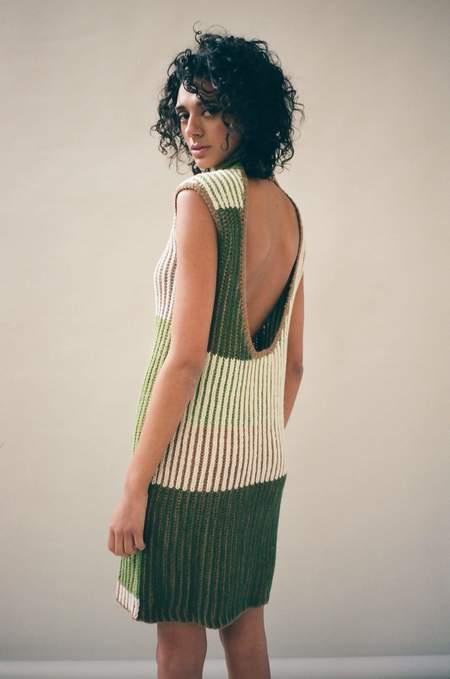 ECKHAUS LATTA Meadow Multi Knit Dress