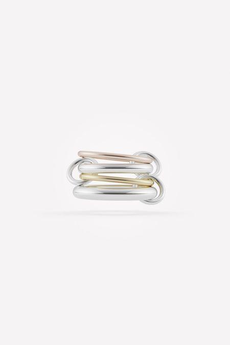 Spinelli Kilcollin Hyacinth MX Ring - Silver/Gold/Rose