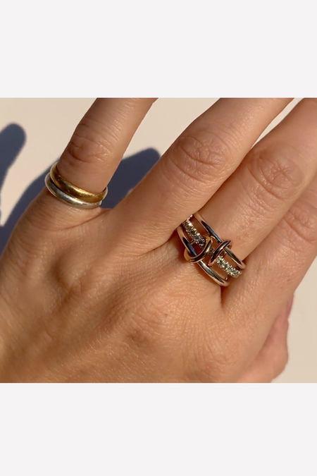 Spinelli Kilcollin Tigris MX Gris Ring