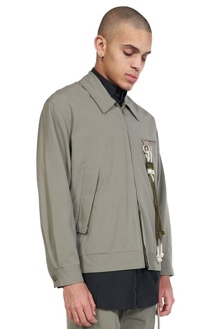 Song for the Mute Room Coach Jacket - Olive