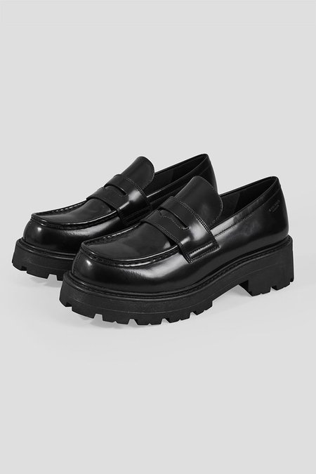 Vagabond Cosmo 2.0 Loafers - Polished Black