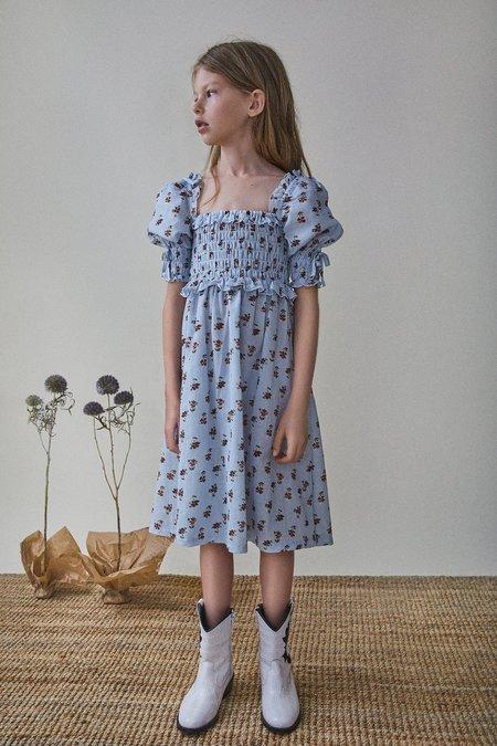 kids The New Society Jane Dress - daisy flower