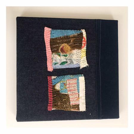 Debby Weiss Fire Textile Art