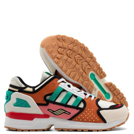 adidas x The Simpsons A-ZX: ZX 10000 Shoes - Cream White