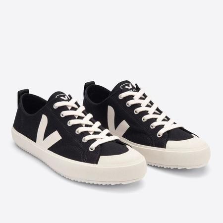 VEJA Nova Canvas Sneakers - Black/Pierre