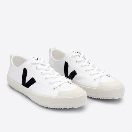 VEJA Nova Canvas Sneakers - White/Black