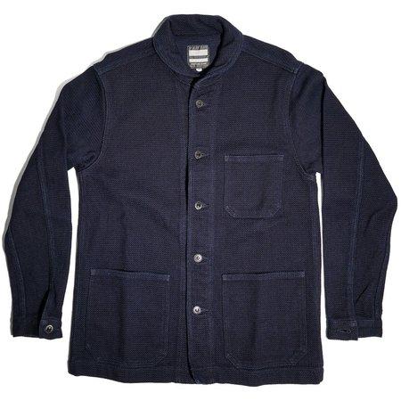 Momotaro Jeans Dobby Coverall - Indigo